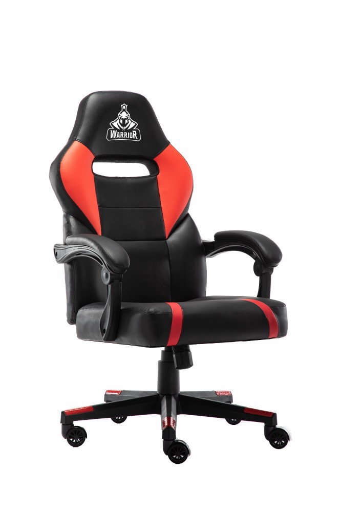 Ghế Gaming Warrior – Crusader Series – WGC101 (Black/Red/White)