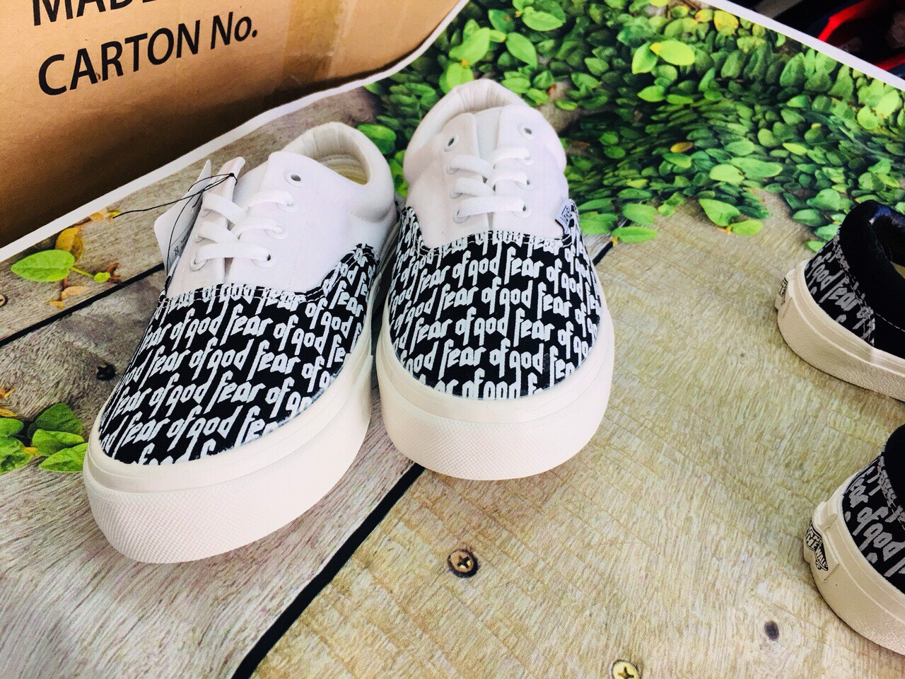 GIÀY VANS CHỮ FEAR OF GOD