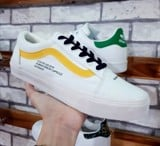 GIÀY VANS THỂ THAO NỮ OLD SKOOL HUMAN WHITE SF