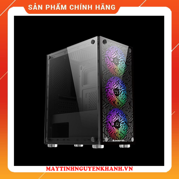 CASE XIGMATEK NYX (EN43040) - M-ATX, 2 SIDE TEMPERED GLASS