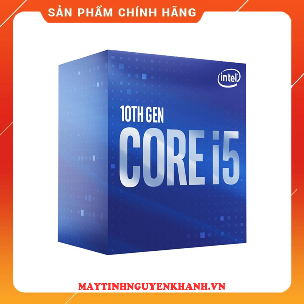 CPU Intel Core i5 10400 (2.90 Up to 4.10GHz, 12M, 6 Cores 12 Threads)NEW TRAY bh 36 tháng