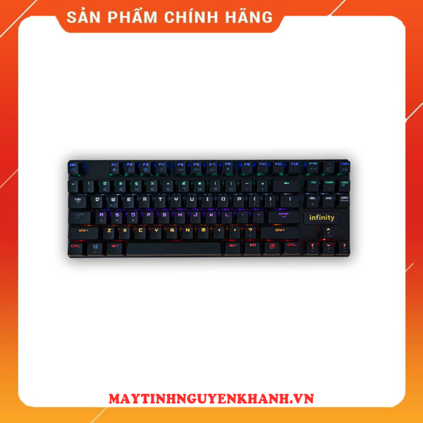 BÀN PHÍM CƠ Infinity Troy TKL – Rainbow Led Mechanical Gaming Keyboard NEW BH 12 THÁNG