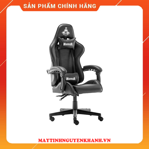 GHẾ GAME WARRIOR - CRUSADER SERIES WGC102 - BLACK/WHITE NEW BH 12 THÁNG