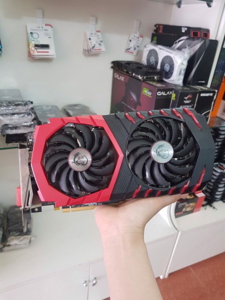 VGA MSI GAMING X RX570 4GD5 Bảo hành 10.2020 [LIKE NEW]
