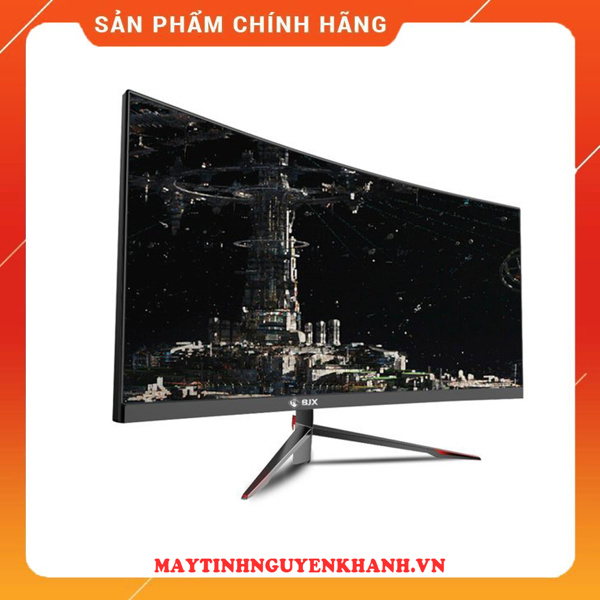 MÀN HÌNH BJX G30P5 30 INCH CONG 200HZ ULTRA WIDE CHUYÊN GAME ( ULTRA WIDE 2560*1080, EYE CARE, AMD FREESYNC, CURVED, SLIM BEZEL )