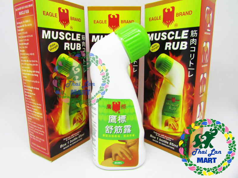 Dầu xoa bóp muscle rub singapore 85 ml