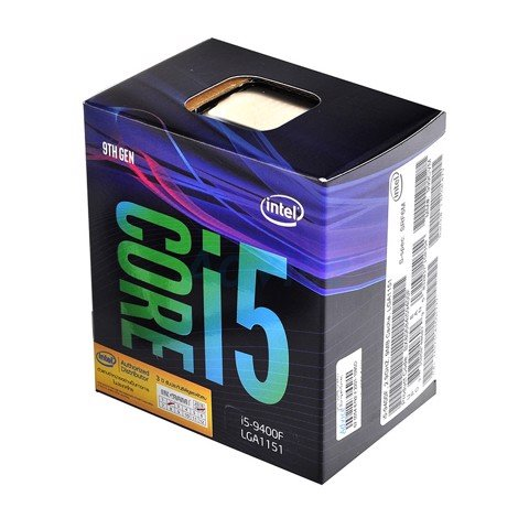 CPU Intel Core i5-9400F (Up to 4.1Ghz/ 9MB cache)