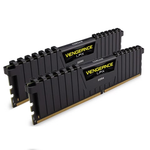 RAM Corsair Vengeance LPX 16GB (2x8GB) DDR4 2666MHz Black