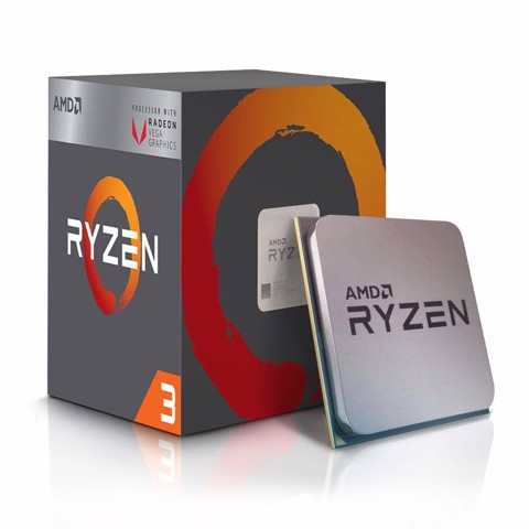 AMD Ryzen 3 2200G (Up to 3.7Ghz/ 6Mb cache)