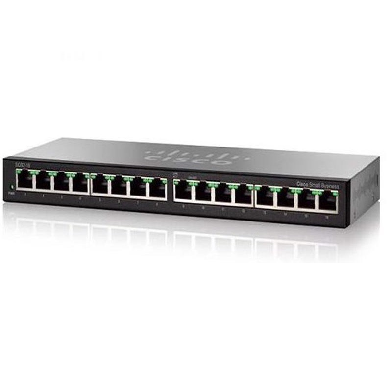 CISCO SG95-16 16-PORT GIGABIT DESKTOP SWITCH
