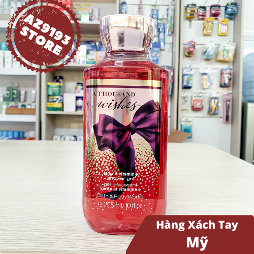 Gel tắm Bath and Body Works A Thousand Wishes 295ml