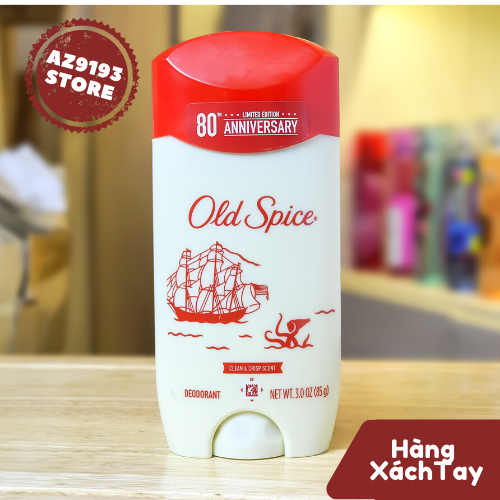 Lăn Khử Mùi Nam Old Spice 80th Anniversary Limited Edition 85g