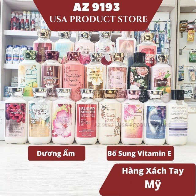 Sữa Dưỡng Thể Bath And Body Works WARM VANILLA SUGAR 236 ml