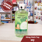 Gel Tắm Bath And Body Works Cucumber Melon 295ml