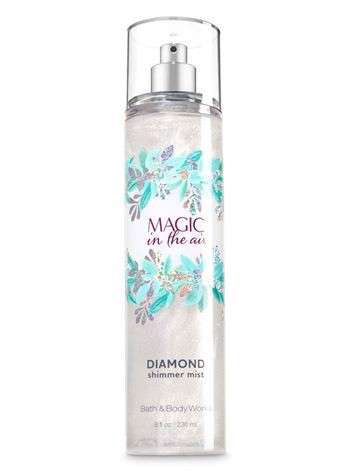Nước Xịt Toàn Thân Nhũ Kim Tuyến Bath And Body Works MAGIC IN THE AIR 236ml
