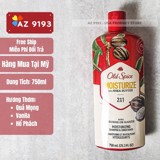 Dầu Gội Nam 2 trong 1 Old Spice MOISTURIZE with Shea Butter 750ml (23.5 oz)
