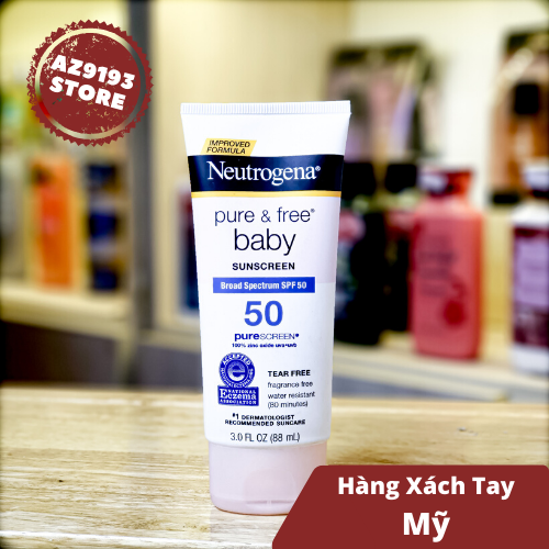 Chống Nắng Neutrogena Pure&Free Baby SPF50 88ml