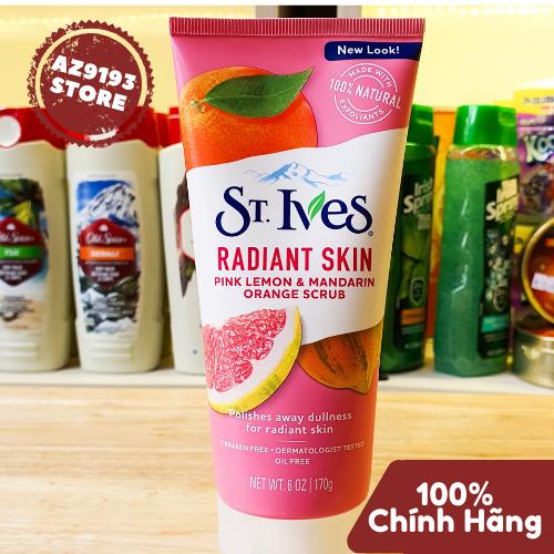 Rửa Mặt St.Ives Pink Lemon & Mandarin Orange Scrub 170g