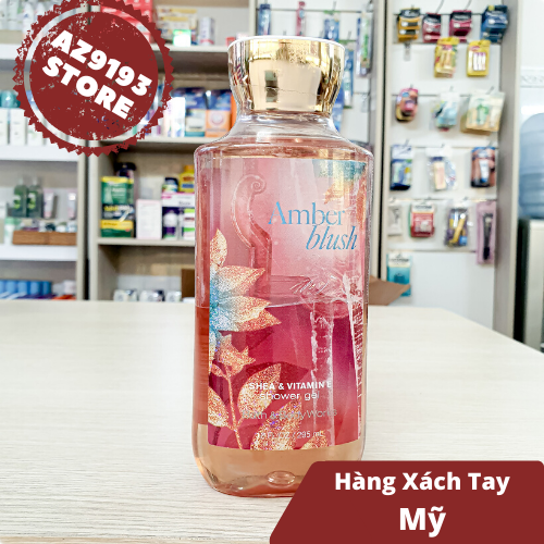 Gel Tắm Bath And Body Works Amber Blush 295ml