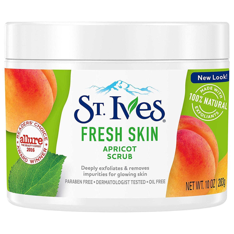 Kem Tẩy Tế Bào Chết St.Ives Apricot Scrub Fresh Skin 283g