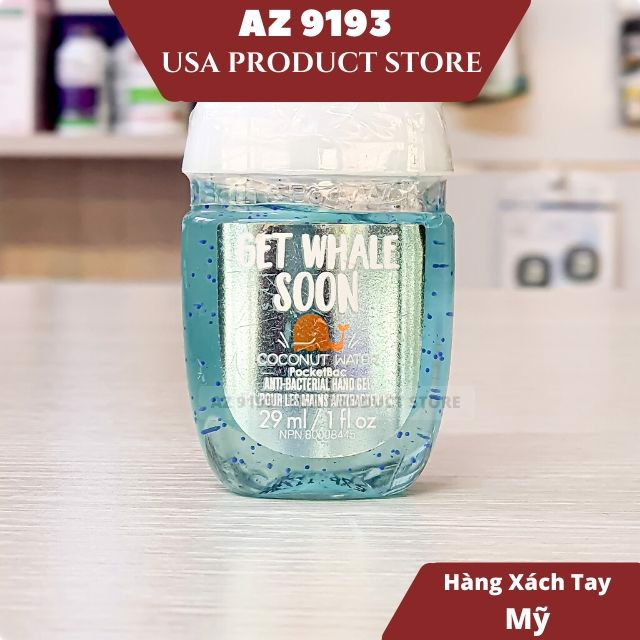 Gel Rửa Tay Khô Bath And Body Works (BBW) Get Whale Soon 29ml