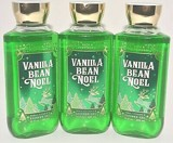 Gel Tắm Bath And Body Works VANILLA BEAN NOEL 295ml