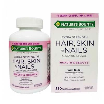 Natures Bounty Hair, Skin & Nails 250V