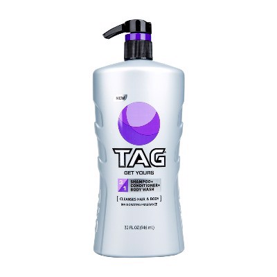 Tắm Gội Tag Get Yours 3in1 Hair & Body Wash 946ml