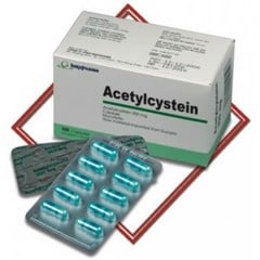 ACETYLCYSTEIN 200MG IMEX (H/100V)