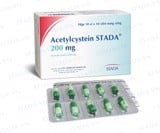 ACETYLCYSTEIN 200MG STADA (H/100V)