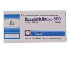 ACYCLOVIR 800MG BOSTON (H/25V)