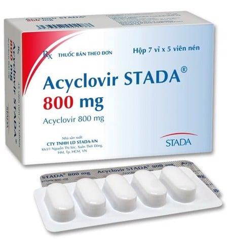 ACYCLOVIR 800MG STADA (H/35V) – Healthy Beauty Co.,LTD