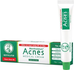 ACNES MEDICAL CREAM (MỤN ĐỎ) (TUBE/18G)