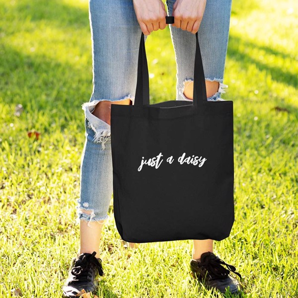 Tote bag just a daisy