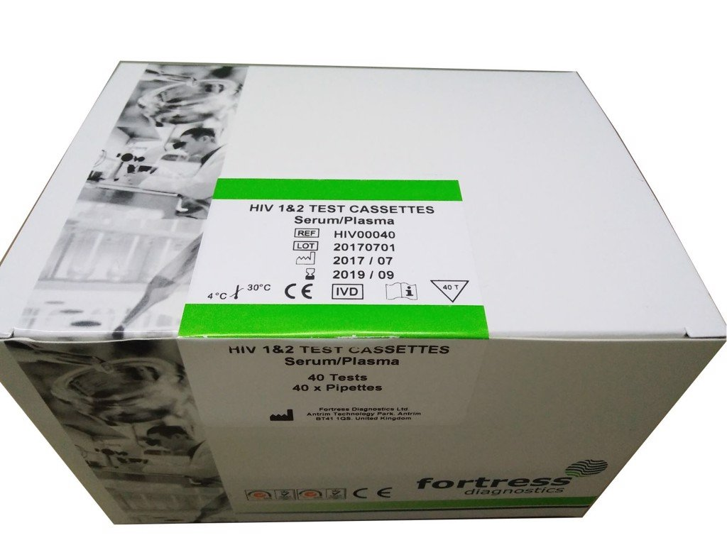 Test thử HIV 1&2 Cassettes Fortress
