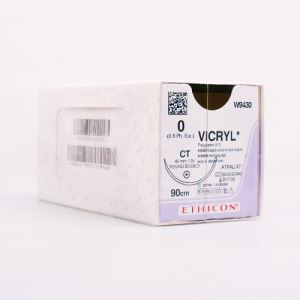 Vicryl 0 90cm 40mm 1/2c Rb Ct W9430