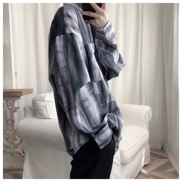 AS659 Dài Wax Tie Dye