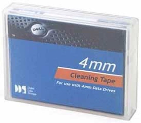 Dell(TM) Cleaning Tape Cartridge (1-Pack) for LTO with Barcode Labels (1 Year Warranty)