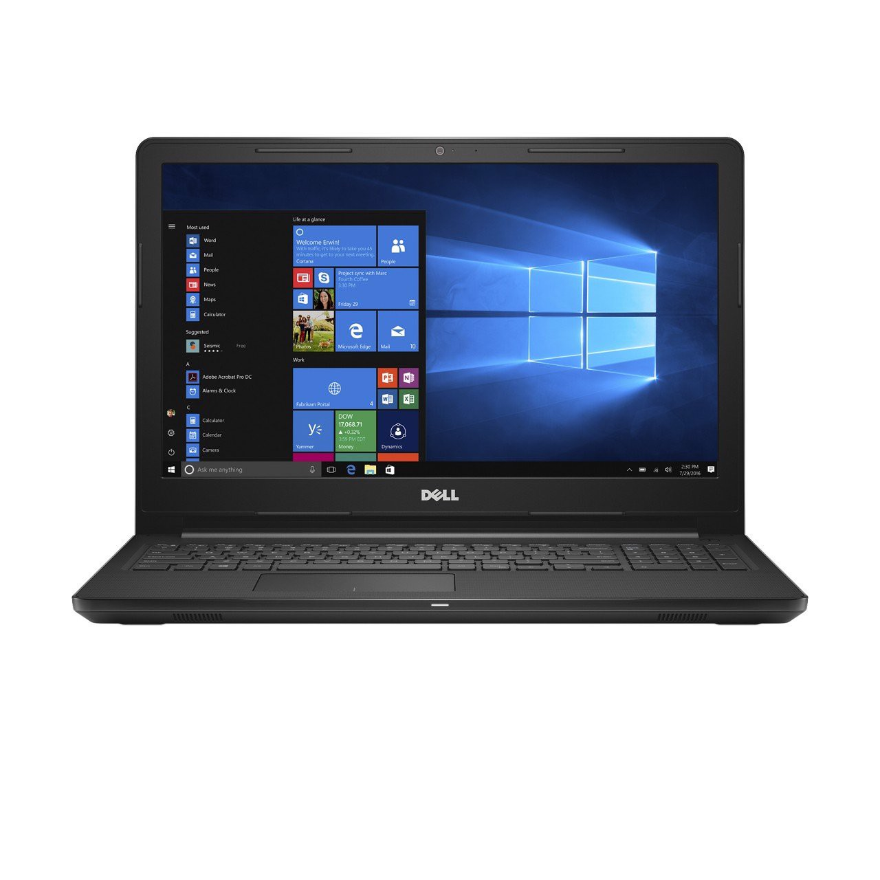 Laptop Dell Inspiron 3567 i3 7020U/4GB/1TB/Win10/(P63F002N67T)