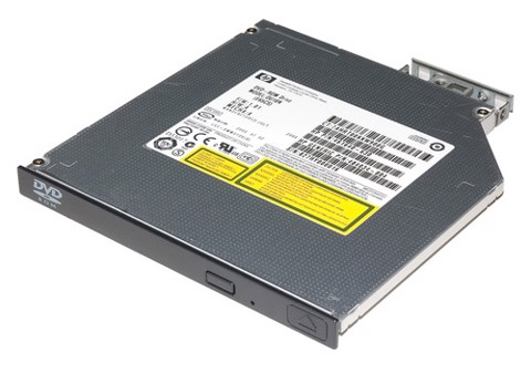 HP 9.5mm SATA DVD-RW JackBlack G9 Optical Drive (726537-B21)