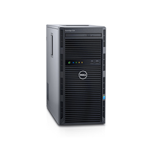 Dell PowerEdge T130/ E3-1240v6 (3.7GHz/4-core/8MB/72W)/8G ( 4 x 3.5