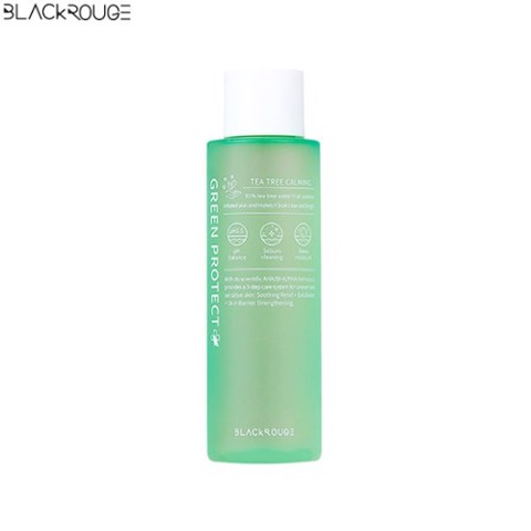 Nước Cân Bằng Black Rouge Green Protect Tea Tree Calming Toner 150ml