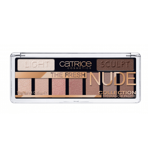 Bảng Phấn Mắt Catrice The Fresh Nude Collection Eyeshadow Palette