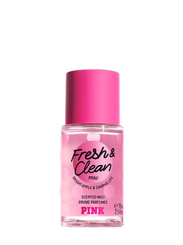 Xịt Body Pink Limited Edition Fresh & Clean Mini Scented Mist Brume Parfumé