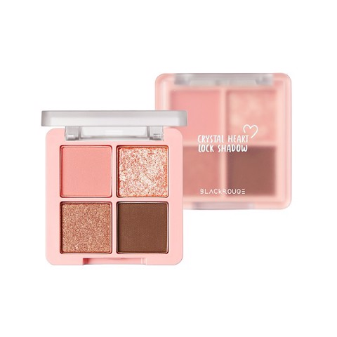 Bảng Phấn Mắt Black Rouge Crystal Heart Lock Shadow