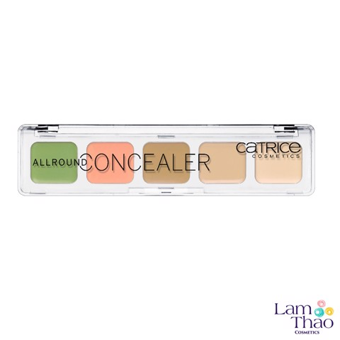 Bảng Che Khuyết Điểm Catrice Allround Concealer Palette