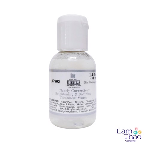 Nước Hoa Hồng Làm Sáng Da Kiehls Clearly Corrective™ Brightening Soothing Treatment Water 40ml