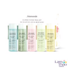 Bộ Toner 5 Chai Mamonde Flower Toner Trial Kit