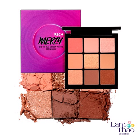 Bảng Mắt Merzy Bite The Beat Shadow Palette Pop In Mood