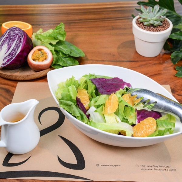 (Mới) 025A. Salad Sốt Chanh Dây